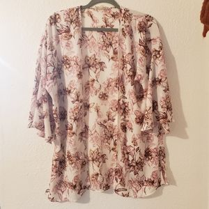 Pink Republic Other - 🖤Pink Republic Floral Shawl🖤